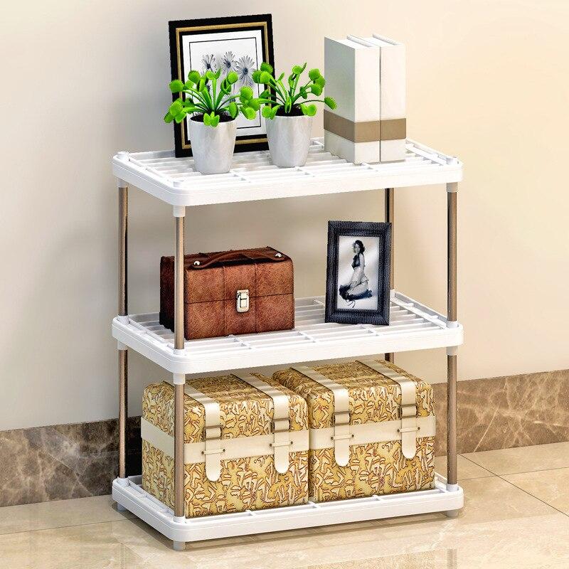 Suo Ernuo Storage Shelf Kitchen Shelf Plastic Floor Storage Rack Wholesale/Sample Production/Processing