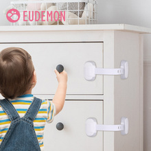 EUDEMON Child Safety Cabinet Lock Baby Proof Security Protector Drawer Door Cabinet Lock Plastic Protection Kids Safety Door Loc