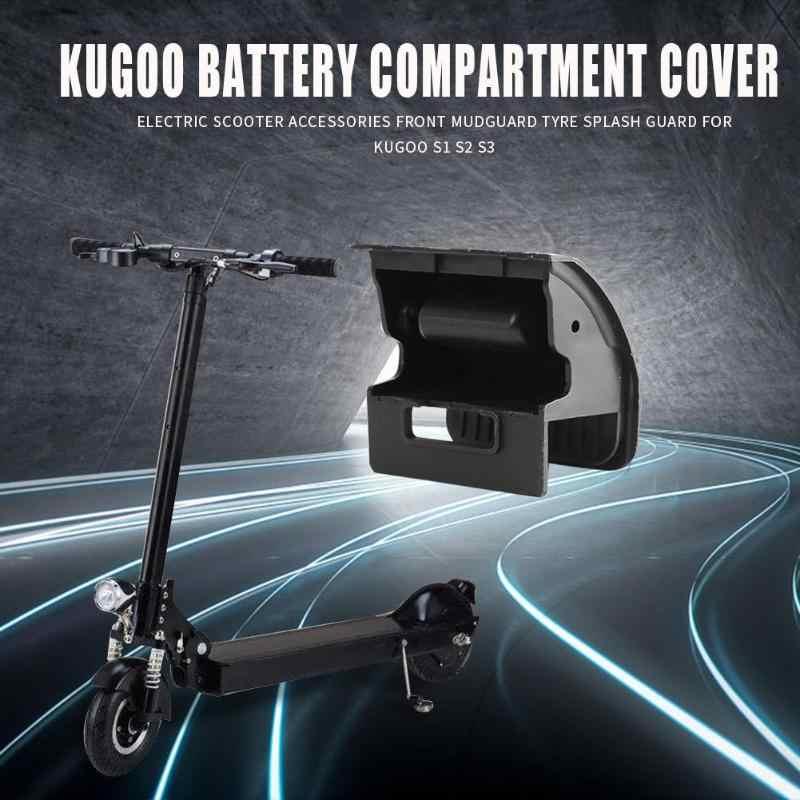 ABS ไฟฟ้าสกู๊ตเตอร์แบตเตอรี่กล่องสำหรับ Kugoo S1 S2 S3 สีดำขี่จักรยานอุปกรณ์เสริม
