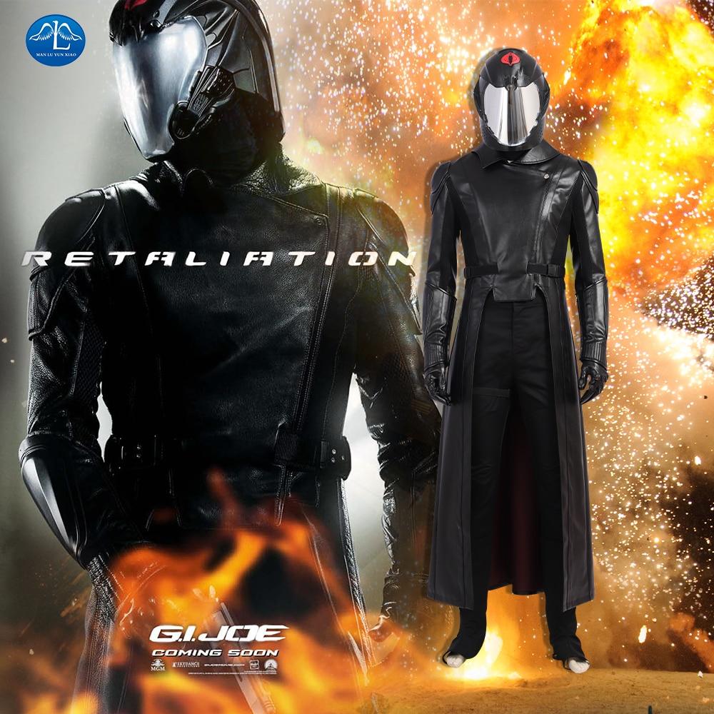 Snake Eyes Classic Ninja GI Joe Retaliation Fancy Dress Halloween Child Costume