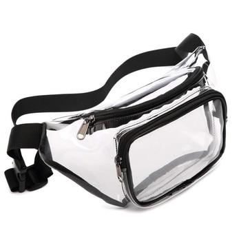 Transparent Bag Ladies Sports Pockets Pvc Bag Cute Pockets Wallet Waterproof Pockets Transparent Pockets Play Essential 2020 New фото