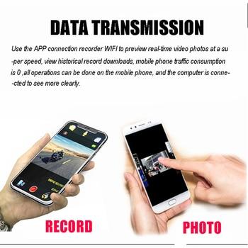 Motorcycle helmet Bluetooth Headset Camera 1080P HD Wireless WiFi Bluetooth 4.1 FREEDCONN App tacking for helmet rider