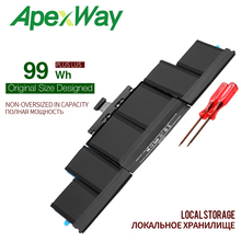 ApexWay 11.26V A1494 Battery For Apple Macbook Pro 15″ Inch Retina A1398 Late 2013 Mid 2014 ME293 ME294 MGXC2 MGXA2