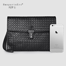Hmn Partn Ers Luxury Men Cowskin Clutch Wallet 2020 Casual New Male Cowhide Genuine Leather Large Capacity Designer Purse Bag
