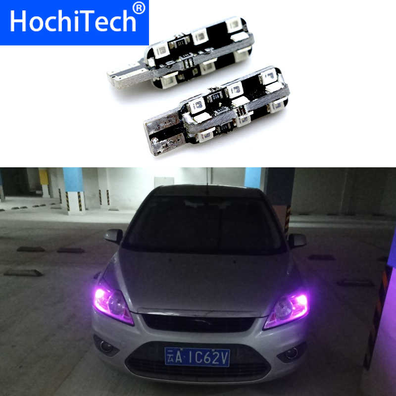 1pc T10 Canbus Led luz del coche W5W 194, 168 no Error bombillas de luces para Peugeot 107, 206, 207 2008, 301, 307, 308, 407, 508, 607