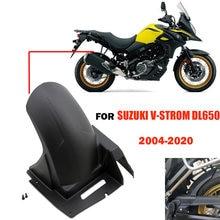 For Suzuki V-Strom 650 DL650 2004 - 2020 Rear Fender Splash Mud Dust Guard Mudguard Cover Mudflap DL 650 V-Strom650 VStrom 650