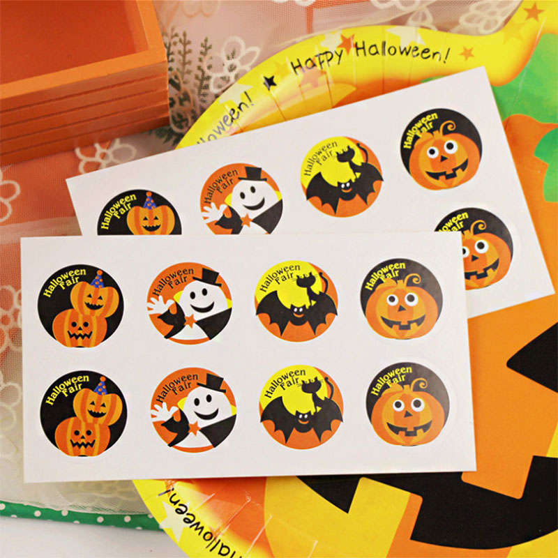Image 5 - WEIGAO Halloween Party Cake Toppers Bat Cupcake Wrappers Kids Happy Halloween Party Cake Topper Event Party Decor Supplies-in Party DIY Decorations from Home & Garden