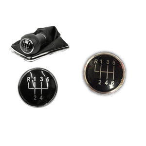 5/6 speed Leather Car Gear Shift Konb Gaiter Shifter Knob cap cover For VW Golf Bora Jetta Polo LUPO CADDY