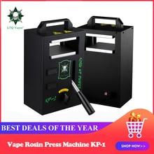 LTQ Паровая гидравлическая канифоль пресс машина устройство KP-1 Vape воск КБР Инструмент для извлечения масла контроль температуры 4 тонн давление регулируется