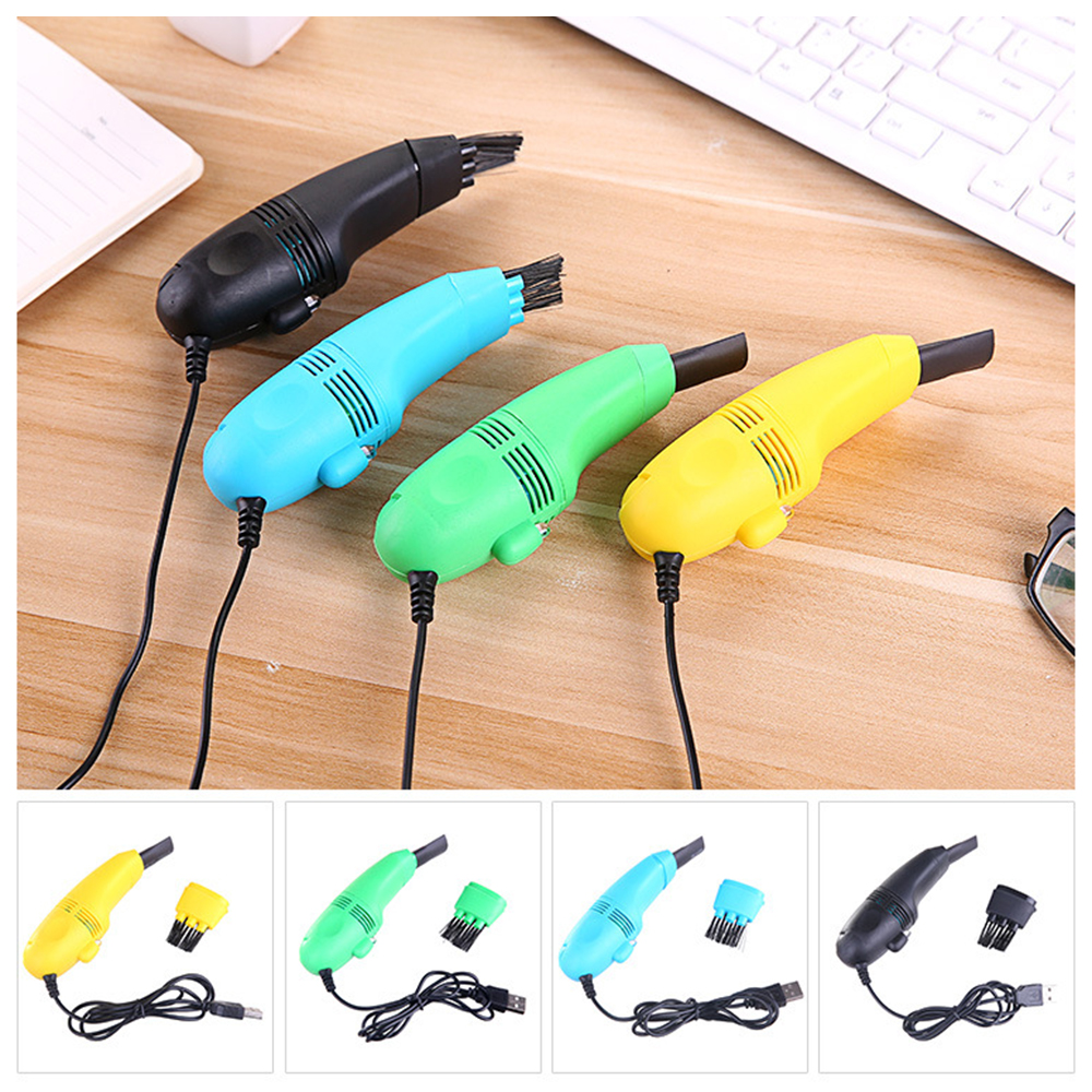 USB Keyboard Cleaner PC Laptop Cleaner Computer Vacuum Cleaning Kit Tool Remove Dust Brush Home Office Desk