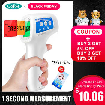 Cofoe Forehead Thermometer Medical Digital Thermometer Baby Non-contact Infrared Body Ovulation Temperature Portable for Baby - Category 🛒 Beauty & Health