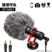BOYA BY-MM1 Video Record Microphone Microphones Game Sound Card Studio Bluetooth-microphone for Singing Pc By-m1 Stream Recorder