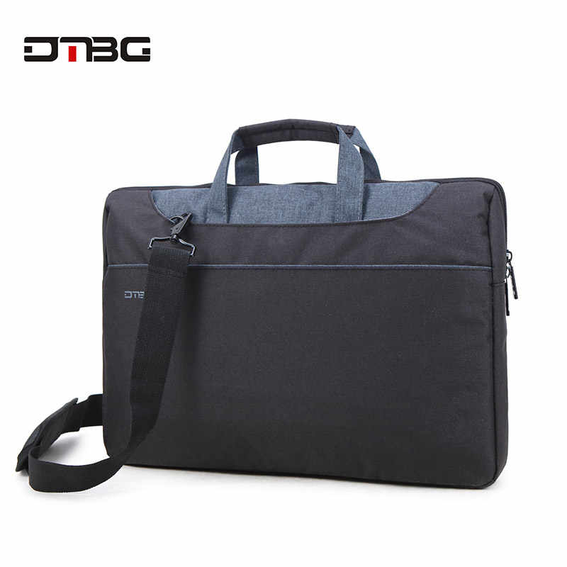 DTBG Men Business Bag 2019 15.6 Inch Laptop Handbag Women Patchwork Briefcase Boy Cartable Homme Girl Work Bag Messenger Bolsas