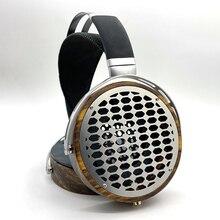 105mm Große Kopfhörer Gehäuse Offener Typ Headset Kopfhörer DIY Angepasst Holz Kopfhörer Shell Fall