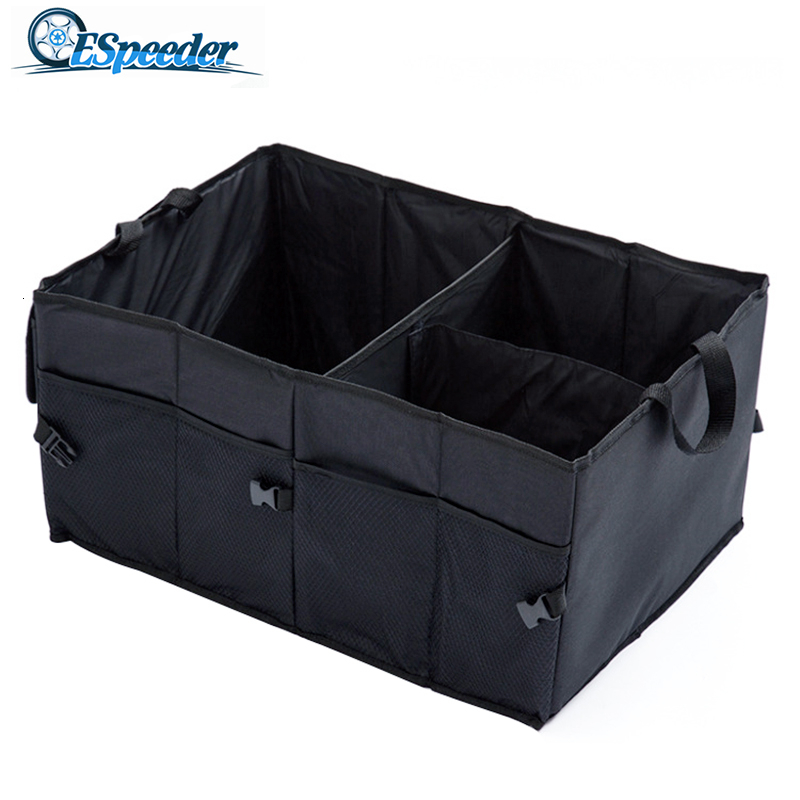 Car Storage Box Multi-function Folding Storage Box Multifunction Large Capacity Storage Organizer Container Stowing And Tidying