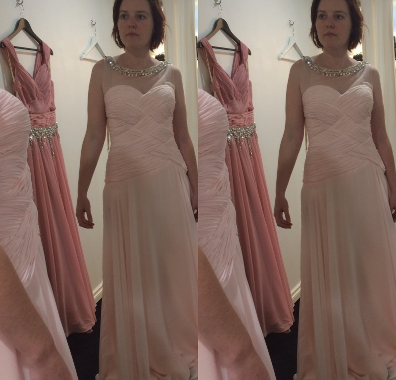 Free Shipping Pink Chiffon Long Sexy Shiny Beaded Backless Party Prom Gown High Quality Elegant Evening Dress 2015 Crystal