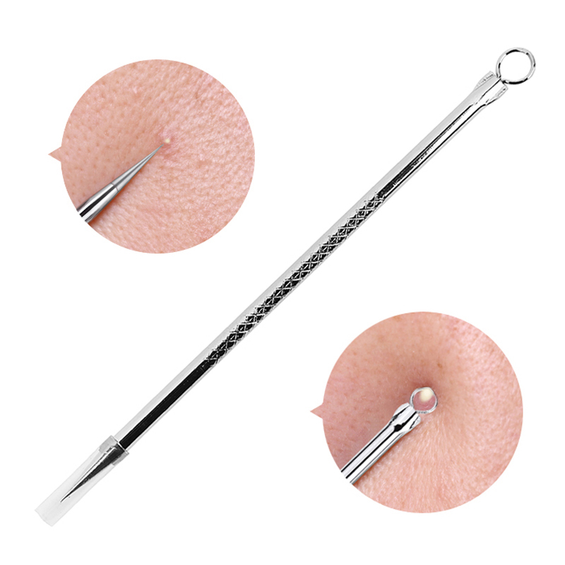 1 Pcs Blackhead Comedone Acne Pimple Blemish Extractor Remover Stainless Steel Needles Remove Tools Face Skin Care Pore Cleaner