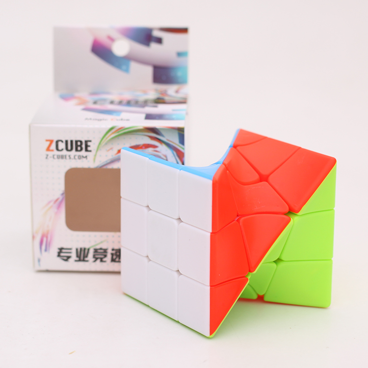 ZCUBE 3x3x3 Twisty Magic Cube Professional Speed Cubes 3x3 Puzzles 3 By 3 Cubo Magico Puzzle Best Toys Puzzle Toys For Kids