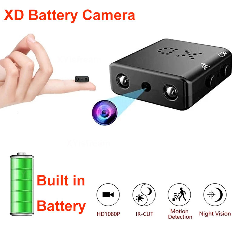 Mini Secret Camera Full HD 1080P Home Security Camcorder Night Vision Micro cam Motion Detection Video Voice Recorder
