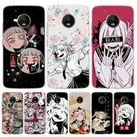 Anime Himiko Toga Kikuchi funda de silicona para teléfono para Motorola Moto G8 G7 G9 G6 G5S G5 G4 E6 E5 E4 Plus Play + una acción Macro E
