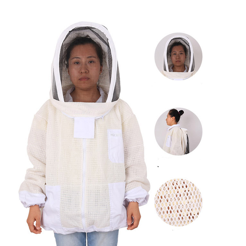 Beekeeper's Protective Suit Beekeeping Jacket Apiculture Three Bee Coat Costume For Beekeeper