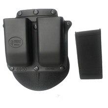 Taktik dergisi kılıfı kılıf 6900 kürek tarzı Glock için 9mm .40 Cal Mags kılıf