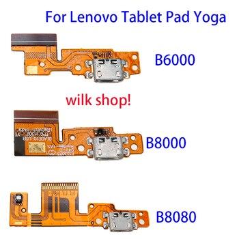Для планшета Lenovo Pad Yoga 8 B6000 B8080 Yoga 10 B8000 B6000 USB зарядный порт гибкий кабель Micro Dock Connector PCB Board