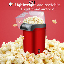 Popcorn-Maker Household Mini DIY Home 1200W Gift Electric Kitchen Hot-Air Kids 110V Automatic