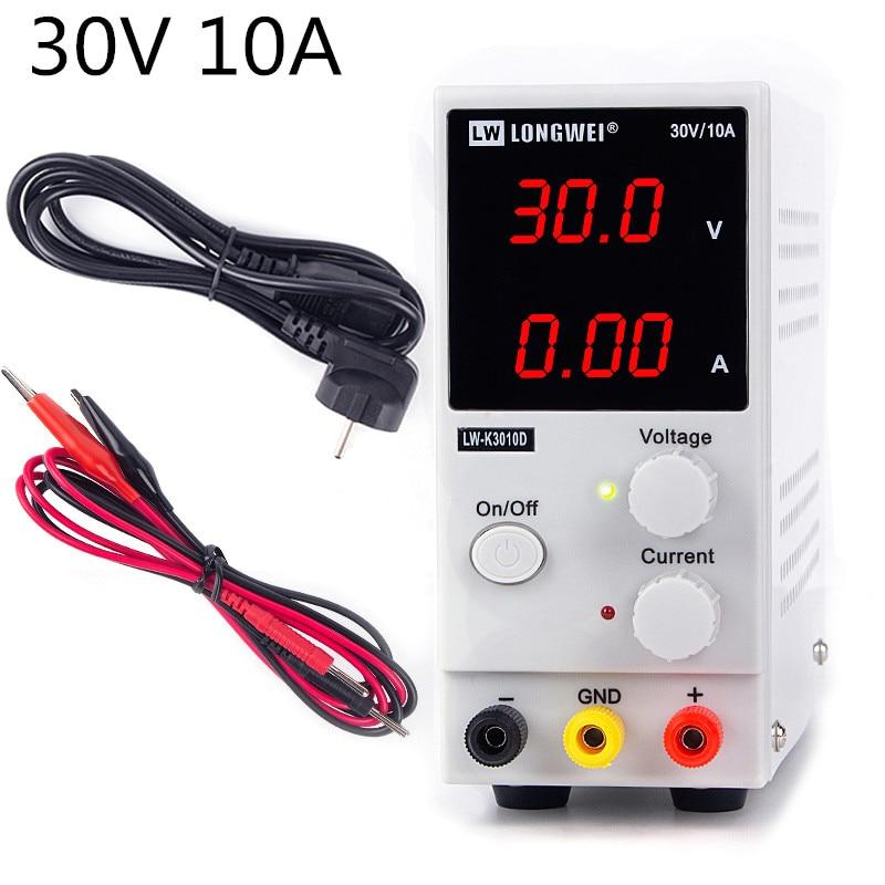 Régulateur de tension d'alimentation de laboratoire 220 v k3010d alimentation de laboratoire réglable source d'alimentation 30v 10a puissance