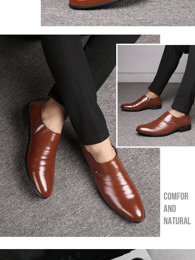 Oxfords Business and Wedding Leather Shoe 16
