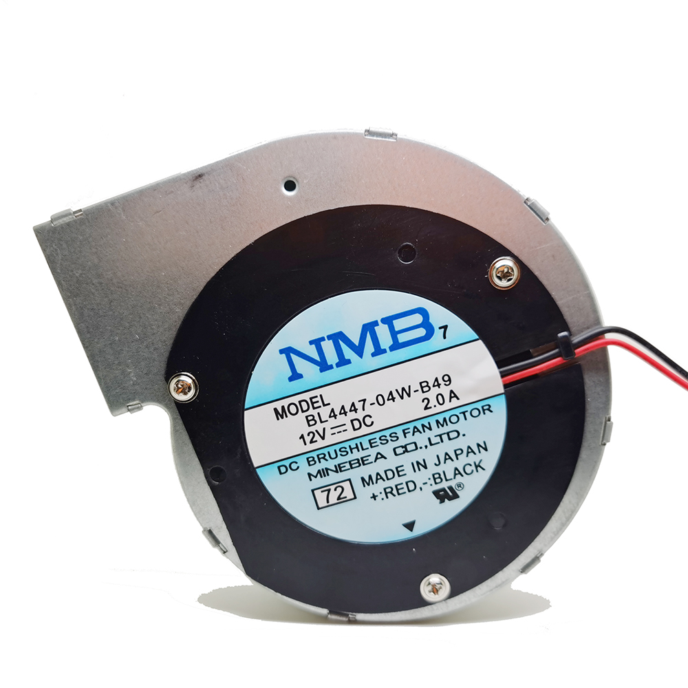 NEW For NMB BL4447-04W-B49 11028 12V 2A 2wire Turbine Centrifugal Fan Blower Metal Frame