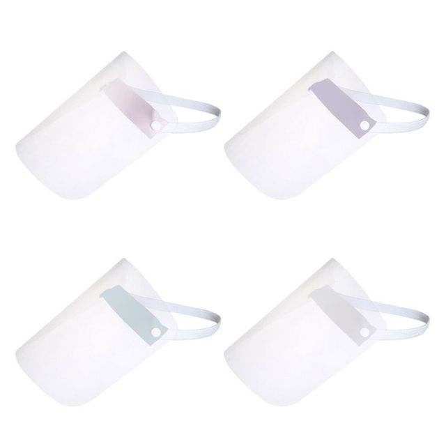 Portable light Transparent Anti-saliva Dust-proof Protect Full Face Covering Mask Visor Shield Protection Masks