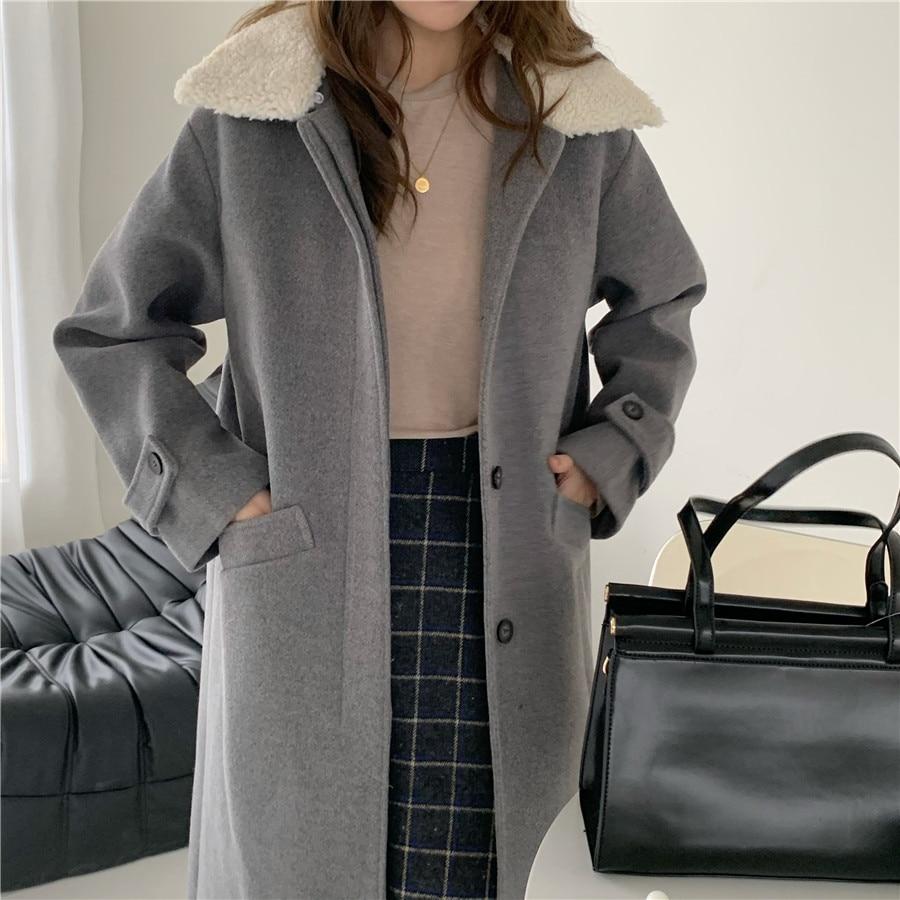 Купить зимние женские свободные chic верхняя одежда повседневный кардиган