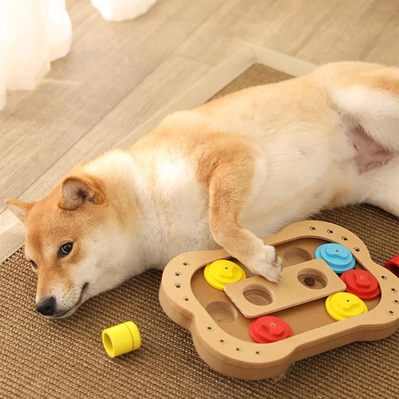Нескользящее Кормление щенка миска кошка игра собака игрушки упражнения забавная еда лечение диспенсер деревянный ABS для кошек игрушки для собак принадлежности|Кормление собаки|   | АлиЭкспресс