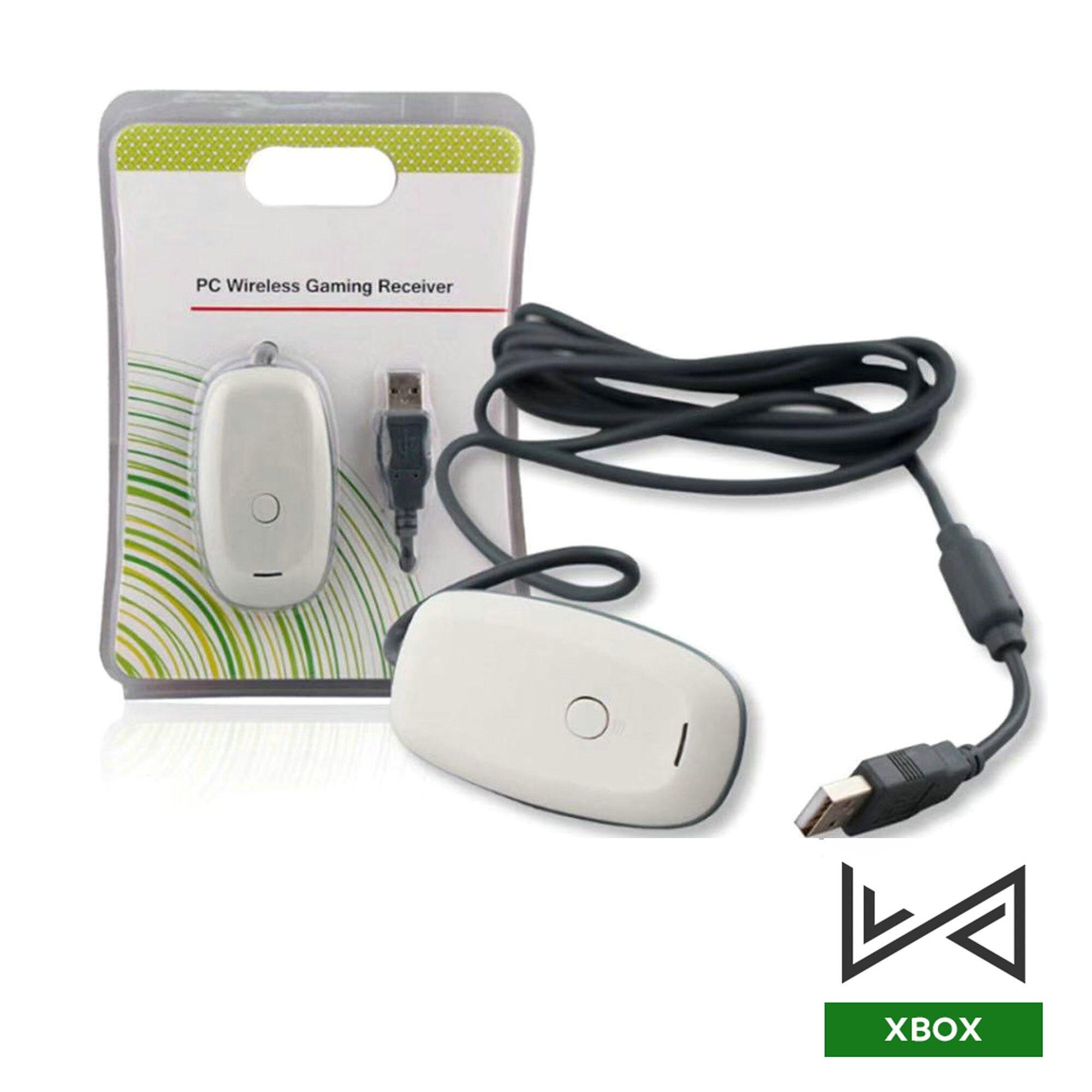 Игровой приемник для беспроводного контроллера Xbox360, USB-адаптер для ПК с поддержкой Windows