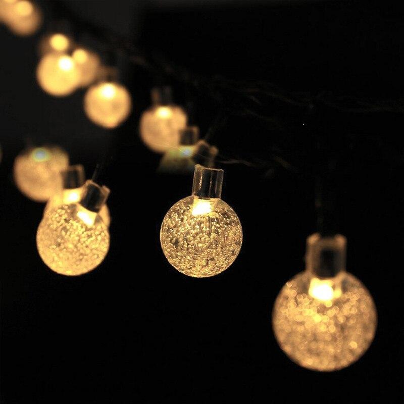 de cristal mais popular globo luzes fadas 03