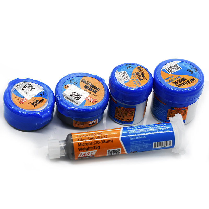 Original Mechanic Soldering Flux Paste Tin Cream SMD SMT BGA Tools Sn63/Pb37 25-45um Welding Paste Flux For Soldering