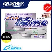 Japão proprietário cultivva original JH-85 11638 ganchos de pesca alta cabeça gabarito aço carbono para pesca farpado ganchos tarf fio material