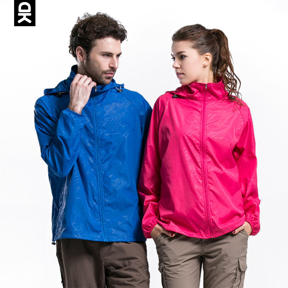 Little Donkey Andy Quick Dry Women Men Hiking Jacket Waterproof Sun-Protective Outdoor Jacket Lightweight Sport Skin Windbreaker title=