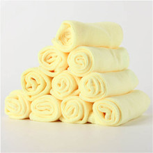 10Pcs  30cm x Microfiber Kitchen Wash Auto Car Home comfortable Dry Polishing Cloth Cleaning Towel