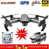 SG907 Drone professionnel 4K HD double caméra GPS intelligent suivre grand Angle Anti-secousse 5G WIFI FPV RC quadrirotor pliable 50X Zoom 18 minutes de temps de vol 500 mètres de distance de contrôle à distance