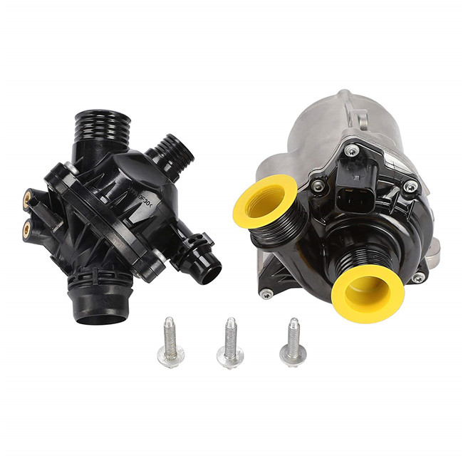 Pack of Two Electric Engine Coolant Water Pump Set for BMW E82 E88 135i E 89 90 91 92 93 335i 335xi E60 E61 535i 535xi Z4 Kit image