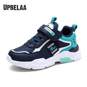 Wiosenne/jesienne dziecięce buty chłopięce trampki dziewczęce obuwie młodzieżowe skórzane wodoodporne buty do biegania studenci trenerzy nowość