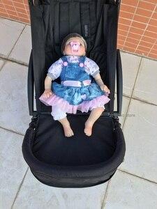 Image 5 - Akcesoria dla wózków dziecięcych Footboard dla Babyzenes Yoyo Yoya Carriage podnóżek przedłużenie stóp 32cm Footmuff dla Vovo Babytime