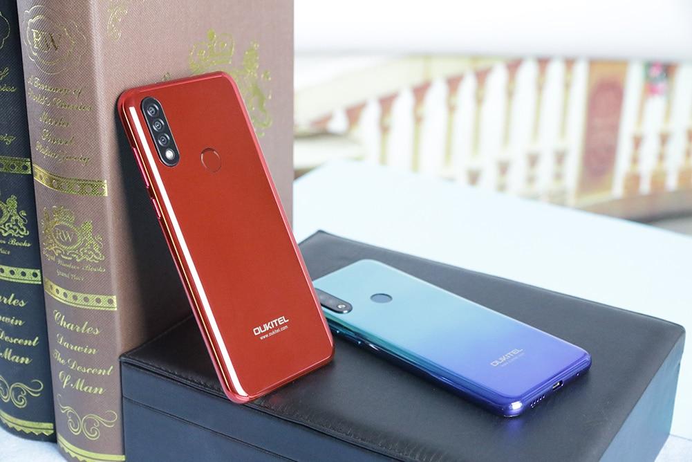 """OUKITEL C17 Pro 6,3"""" 19,5: 9 Android 9,0 мобильный телефон MTK6763 Восьмиядерный 4 Гб ОЗУ 64 Гб ПЗУ двойной 4G LTE задняя Тройная камера смартфон"""