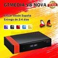 Оригинальный GTmedia V8 NOVA так же, как и GTmedia V8X спутниковый декодер DVB-S2 Full HD 1080P и встроенным модулем Wi-Fi дополнительное по не включают в себя