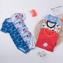 5 шт./лот, боди для новорожденных, детская одежда с короткими рукавами комбинезон для малышей от 0 до 24 месяцев, хлопок, одежда для малышей комплекты для младенцев