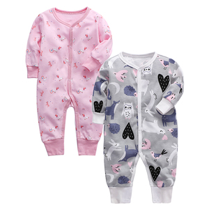 Image 3 - Infant Jumpsuit Newborn Romper Baby Clothing 100% cotton 3 6 9 12 18 24 Months Baby Clothes
