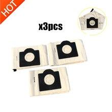 3pcs washable Karcher WD3 dust bags cloth WD3300 MV3 SE4001 SE4002 6.959 130 A2200 A2500 A2600 A2900 A3100 Vacuum cleaner bags