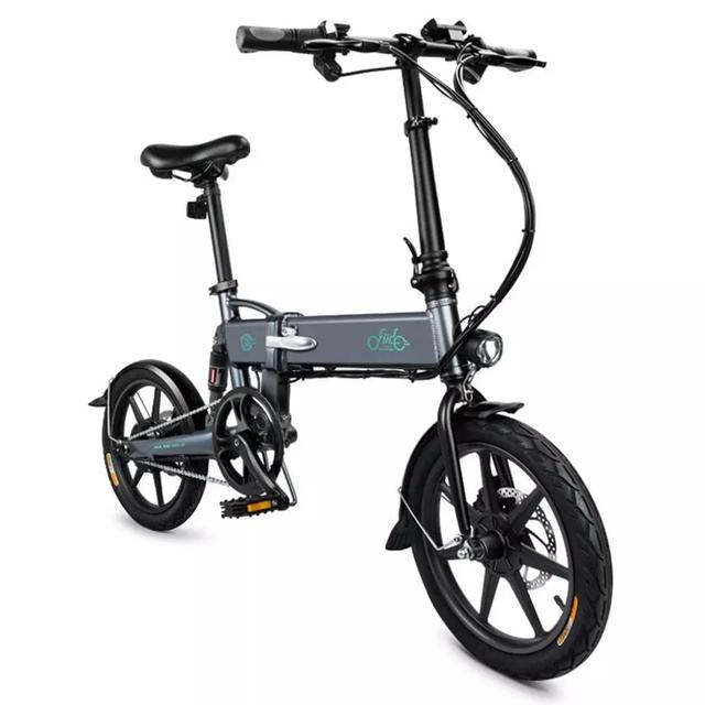 K1-005 FIIDO-Electric Bicycle D2 / D2S Shifting Version, 36V, 7.8 Ah, 250W, 16 Inch Folding Moped, 25km / h Max, 50KM EU STOCK